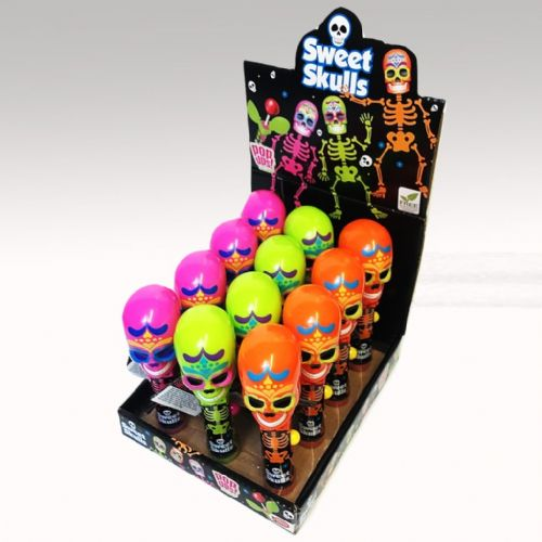 SWEET SKULLS POP UPS LOLLIPOP x12 (ONLY 8 IN STOCK)